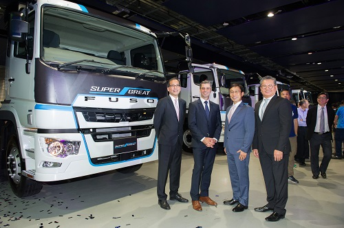 mitsubishi fuso launches the new super great in hong kong