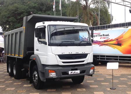 fuso | new strategic fuso truck rolls out in kenya and sri lanka